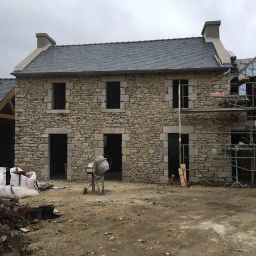 Rénovation entière de la façade avant
